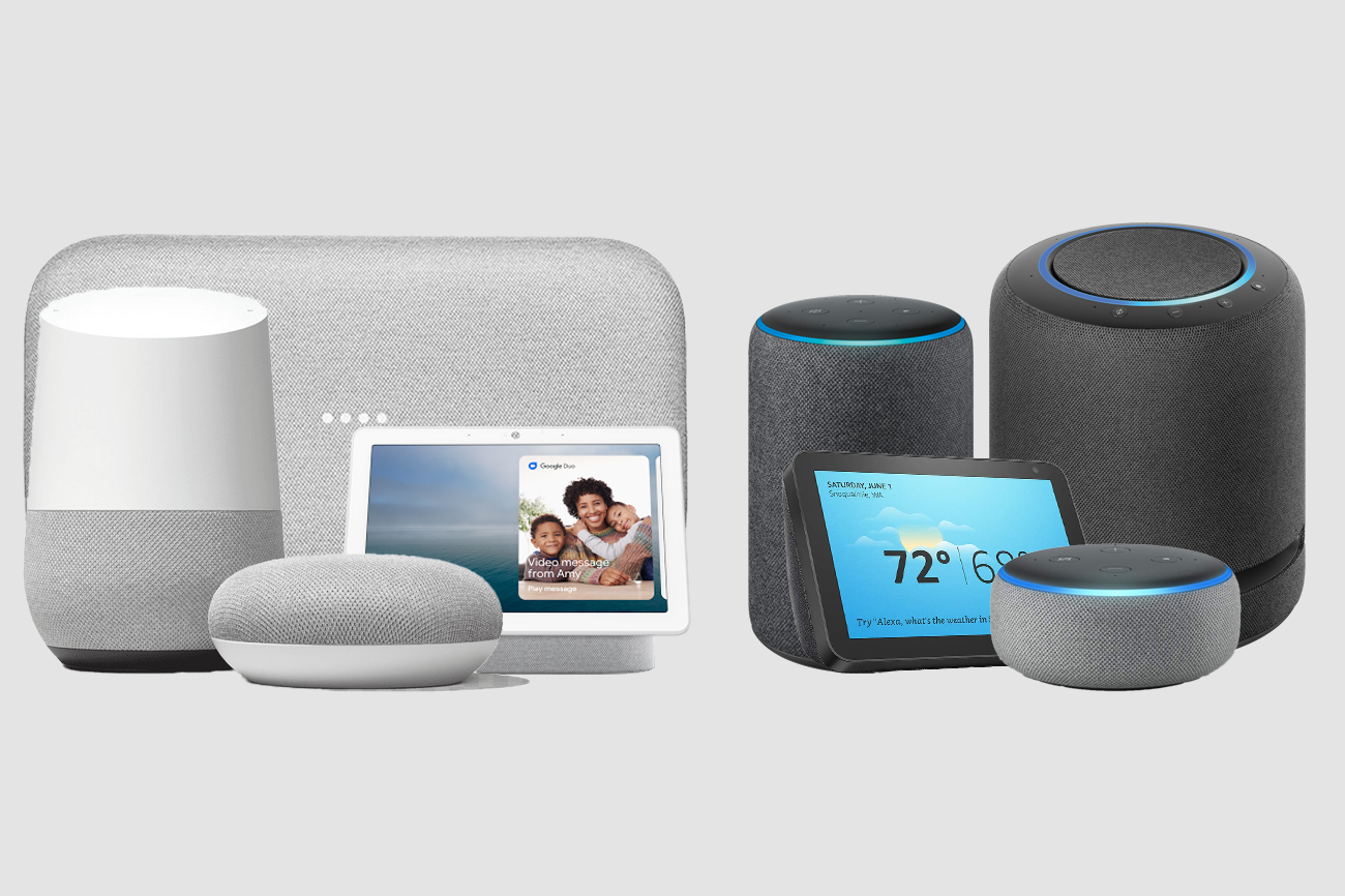 Google HOme vs Amazon Echo: Comparacion altavoces inteligentes